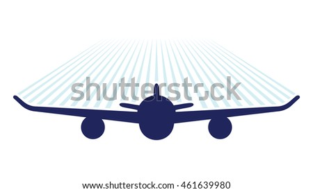air plane vector icon
