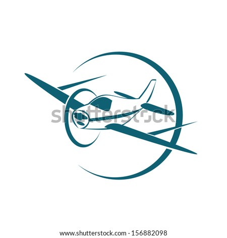 aircraft - stock vector