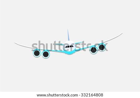 Airplane Icon / AIrplane Art Icon / Airplane Graphic Icon / Airplane EPS / Airplane Jpeg - stock vector