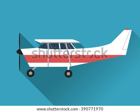 Airplane Icon Design Stock Vector 390771970 Shutterstock