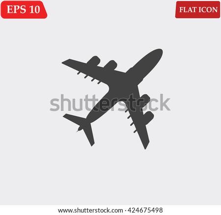 airplane Icon Vector. airplane Icon Art. airplane Icon Picture. airplane Icon Image. airplane Icon logo. airplane Icon Sign. airplane Icon Flat. airplane Icon design. airplane icon app. airplane icon - stock vector