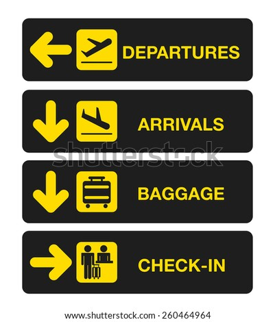 airport terminal design, vector illustration eps10 graphic  - stock vector