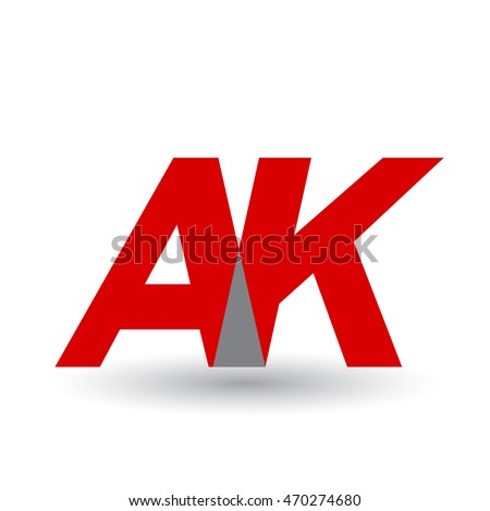 Ak company group linked letter logo stock vector 470274680 ak company group linked letter logo altavistaventures Image collections