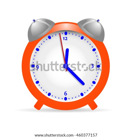 Alarm clock orange