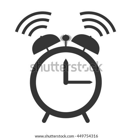 Alarm Clock Ringing Vector Design Stock Vector 449754316 ...