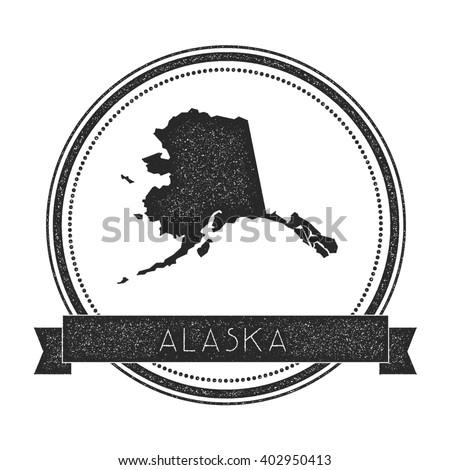 Alaska Map Stock Images RoyaltyFree Images Vectors Shutterstock - Us alaska hawaii vector map