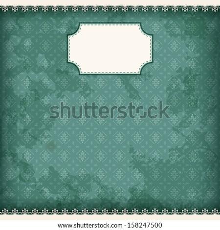 Album page. Vector illustration. - stock vector