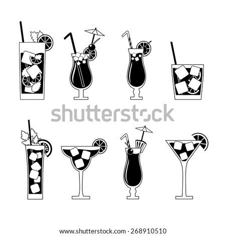 Martini champagne