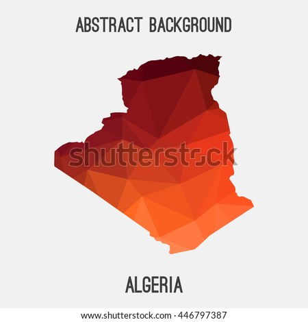 Algeria Map Stock Images RoyaltyFree Images Vectors Shutterstock - Algeria map