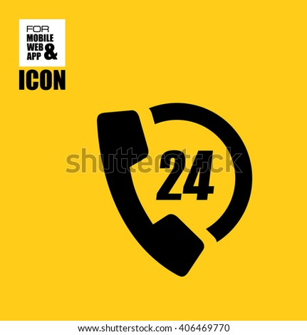 All day icon - stock vector