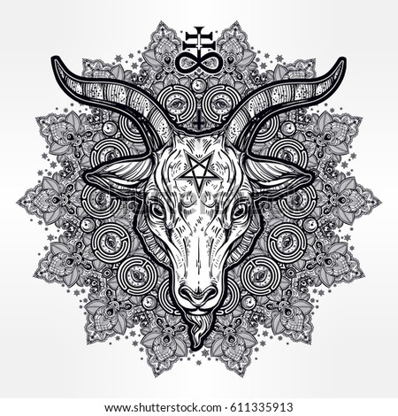 Adult Coloring Pages Satanic