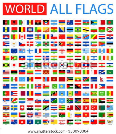 All World Vector Flags - Vector Collection