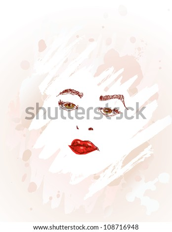 Allure - stock vector