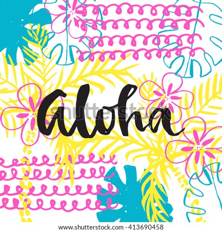 Aloha Stock Photos Royalty Free Images Vectors