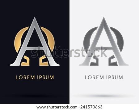 Alpha Omega Sign Logo Symbol Icon Stock Photo Photo Vector