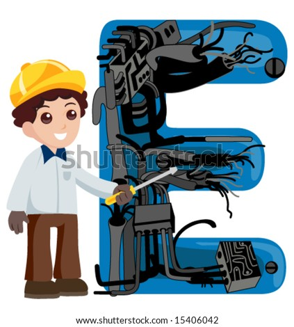Alphabet Kids Electrical Engineer