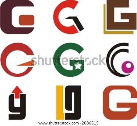 Alphabetical Logo Design  G Logo