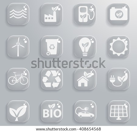 Alternative energy  simply symbol for web icons