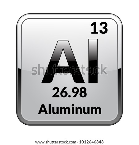 Boron symbolchemical element periodic table on stock vector chemical element of the periodic table on a glossy white background in a urtaz Images