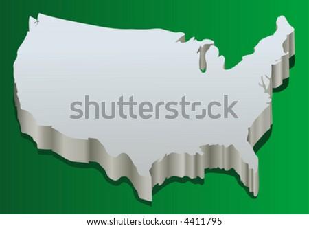 america (vector) - stock vector