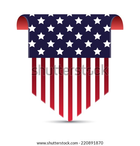 America, vector illustration - stock vector