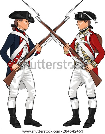 Revolutionary War Stock Images, Royalty-Free Images ... American Revolution Soldier Clipart