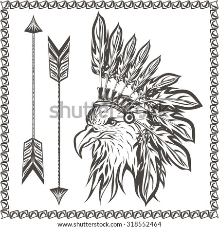 indian and wolf coloring pages - photo#44