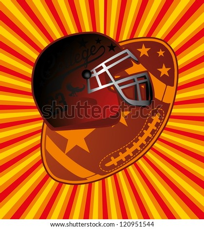 american football college team