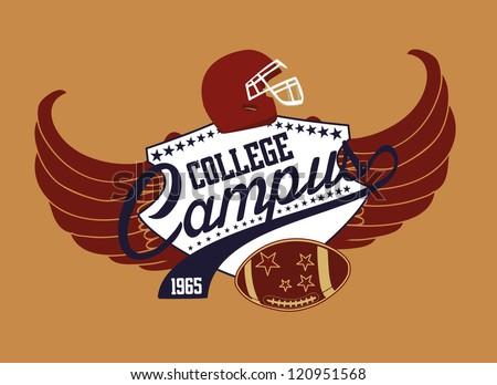 american football college team