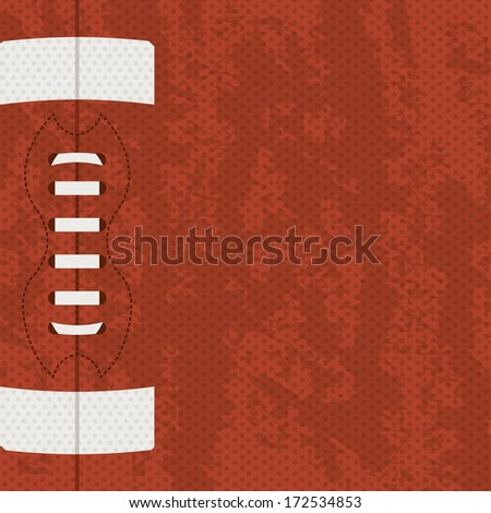 american football design over brown   background vector illustration
