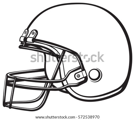 american football helmet vector illustration stock vector hd rh shutterstock com