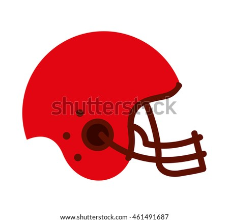 american football sport icon vector isolated graphic