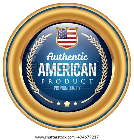 American Product badge