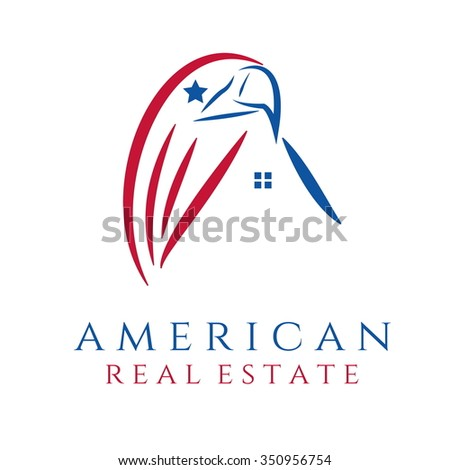 Eagle flag stock photos images pictures shutterstock for American homes realty