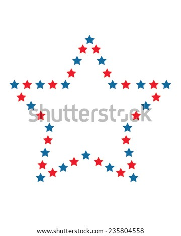 American Star Graphic - Vector