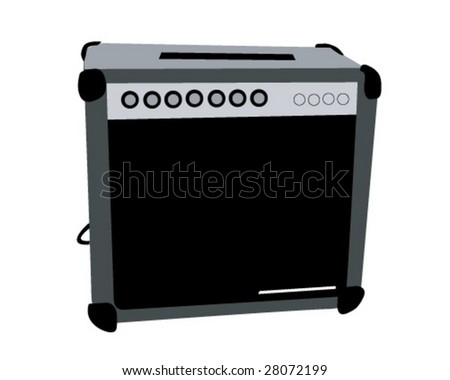 Amplifier Vector Illustration