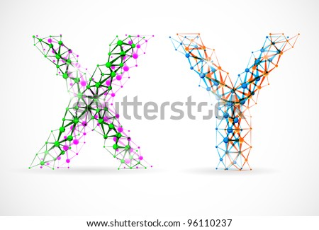 y chromosome structure  An abstract image of x