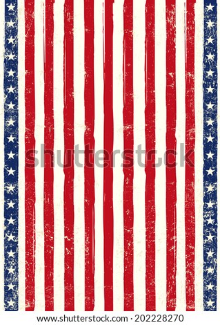 An american background for your event - stock vector