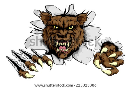 Halloween Werewolf/Creature Nails | Special FX Series (CC) - YouTube