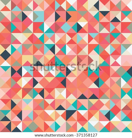 An illustrated geometric vector pattern background