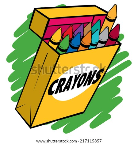 Crayon Box Stock Images Royalty-Free Images U0026 Vectors | Shutterstock