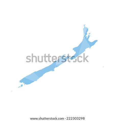 An Illustration of a colourfully filled outline of New Zealand