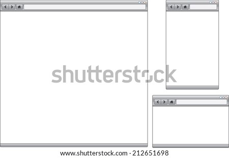 An Illustration of a Device with text on white background - stock vector