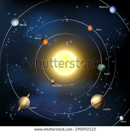 planets from our solar system stock images royaltyfree
