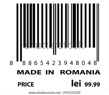 An Illustration of stamp marked Made in Romania