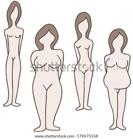 Основные типы женских форм