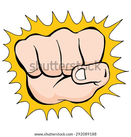 An image of a punching fist.