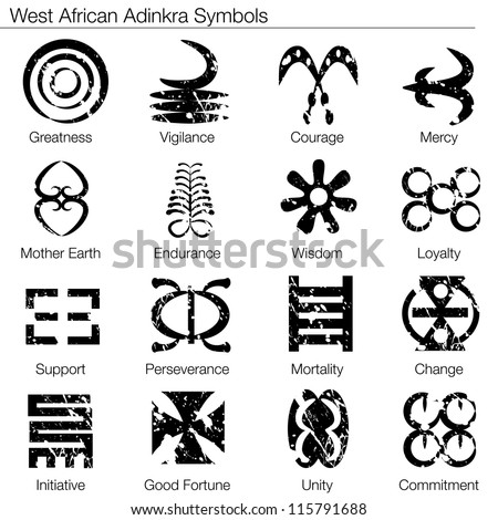 African Symbol For Love African adinkra symbols.