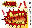 An image of zonk comic book text. - stock photo