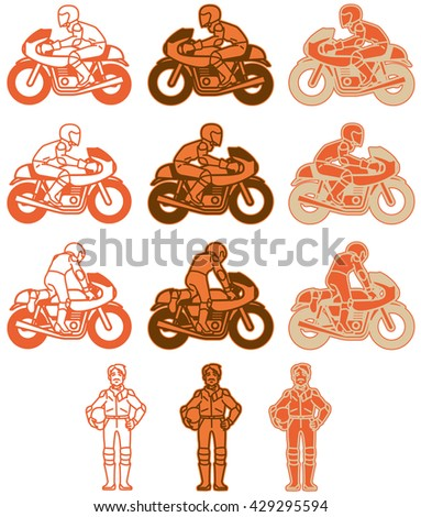 Stock Images Similar To Id 56404672 Smile Icon Riding A Bike
